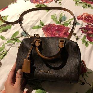 Michael Kors dark brown bag